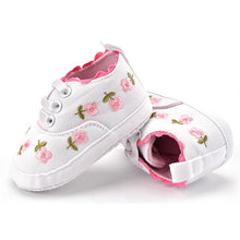 Load image into Gallery viewer, Baby Girl First Walker Shoes