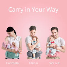 Load image into Gallery viewer, Hip Seat -  Multi-functional Baby Carry