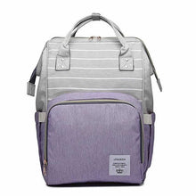Load image into Gallery viewer, Stylish Maternity Diaper Backpack
