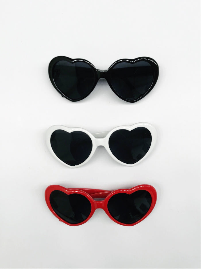 Oversized Heart Shaped Sunglasses