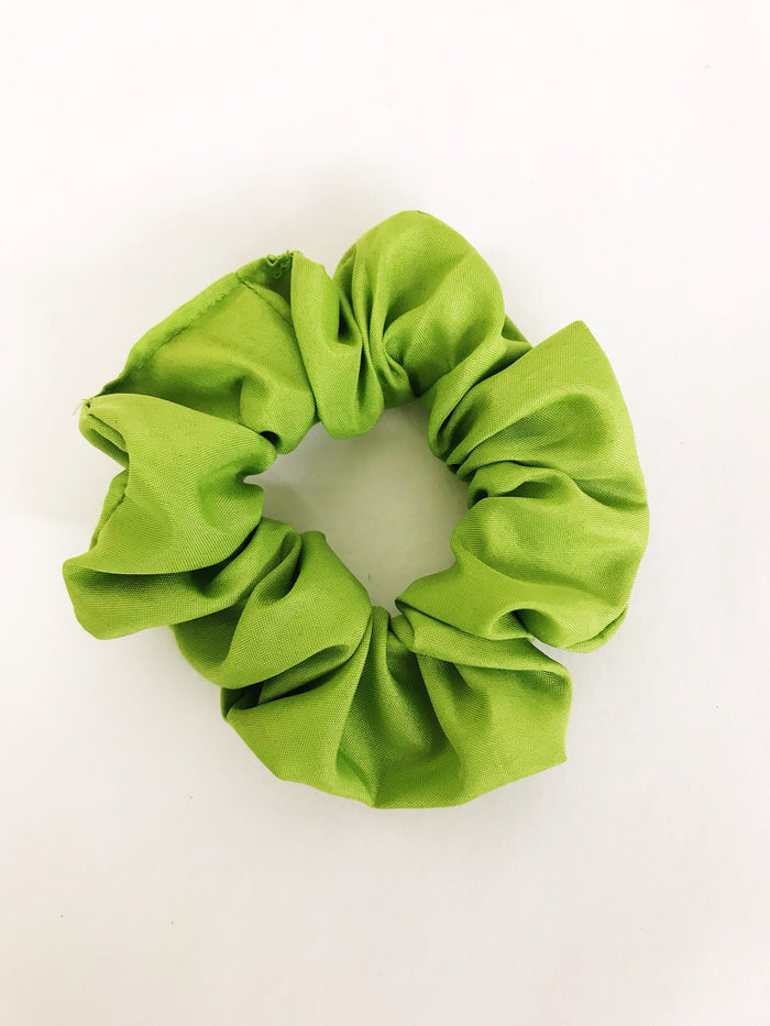 Bright Green Scrunchie