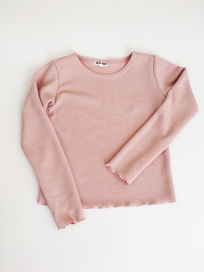 Longsleeve Knit Top