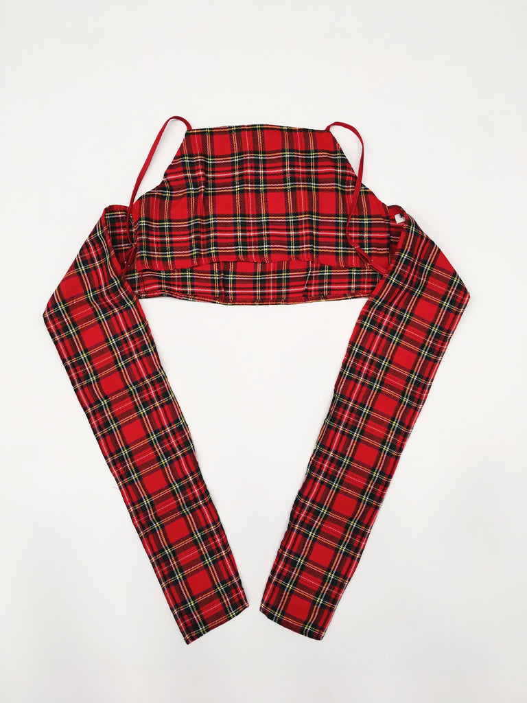 Tartan Crop Top - MADE TO ORDER