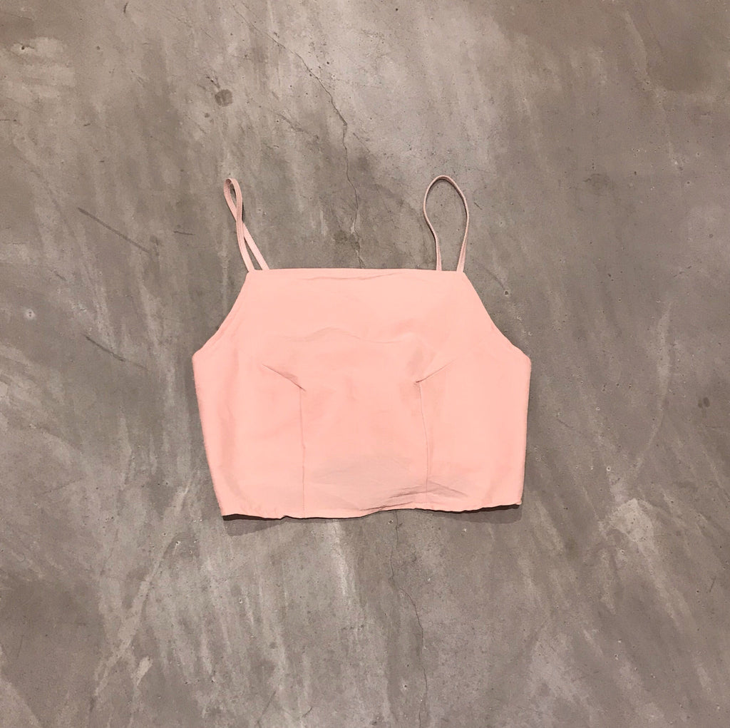 Tie Back Crop Top (3 Colours) MADE TO ORDER