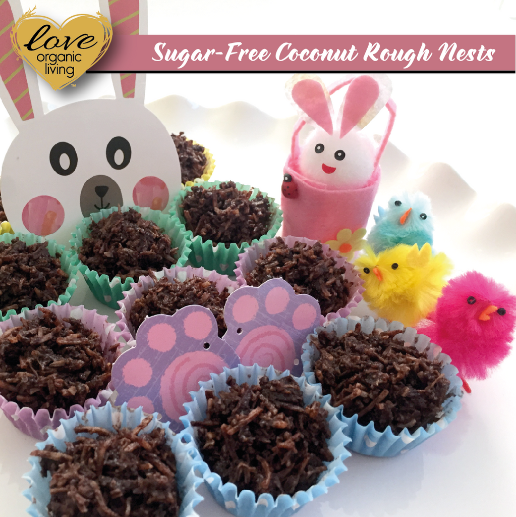 Sugar-Free Coconut Rough Nests