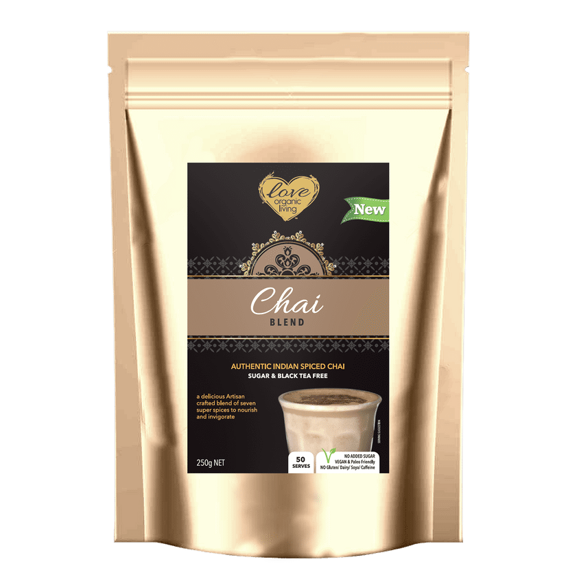 Love Organic Living - Chai Blend 250g ** WINTER WARMER SPECIAL DEAL $10 OFF **