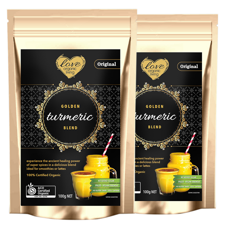 Golden Turmeric Blend - Original - TWIN PACK 66 serves