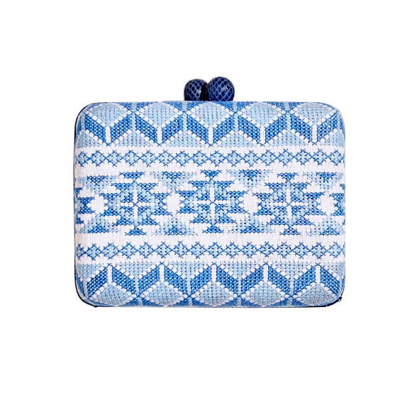 T'boli Small Embroidered Clutch