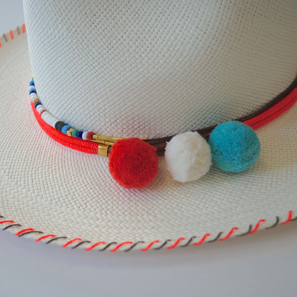 Zoe Hat- Coral