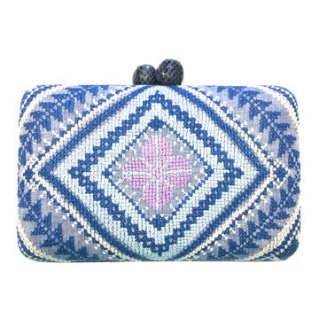 T'boli Medium Embroidered Clutch