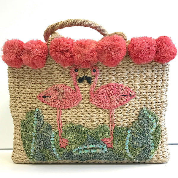 Flamingo Basket