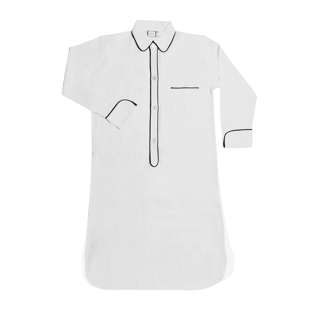 BARDOT SILK NIGHTSHIRT