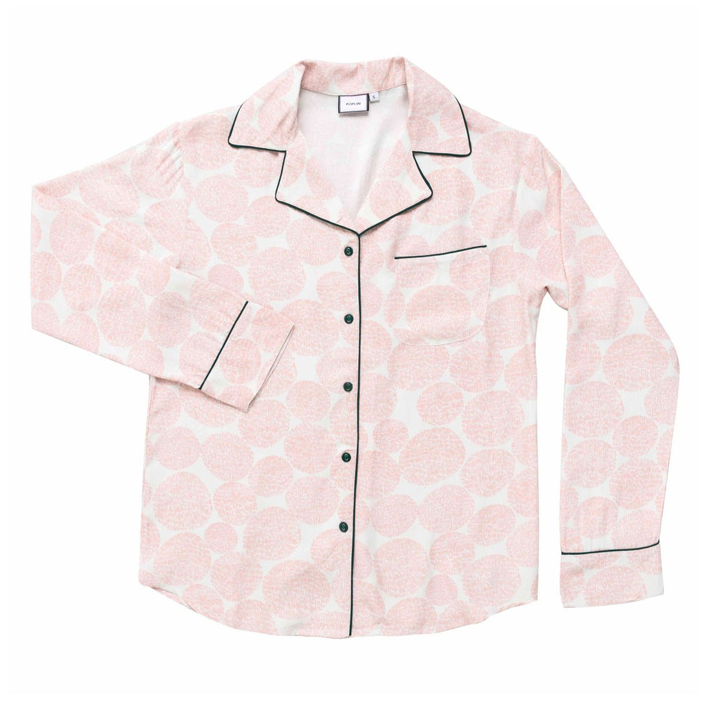 CHARLESTON TAILORED SILK SHIRT BLOSSOM