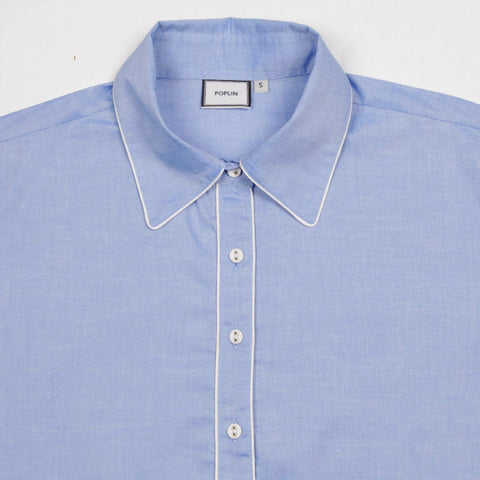 Chambray Bardot Nightshirt