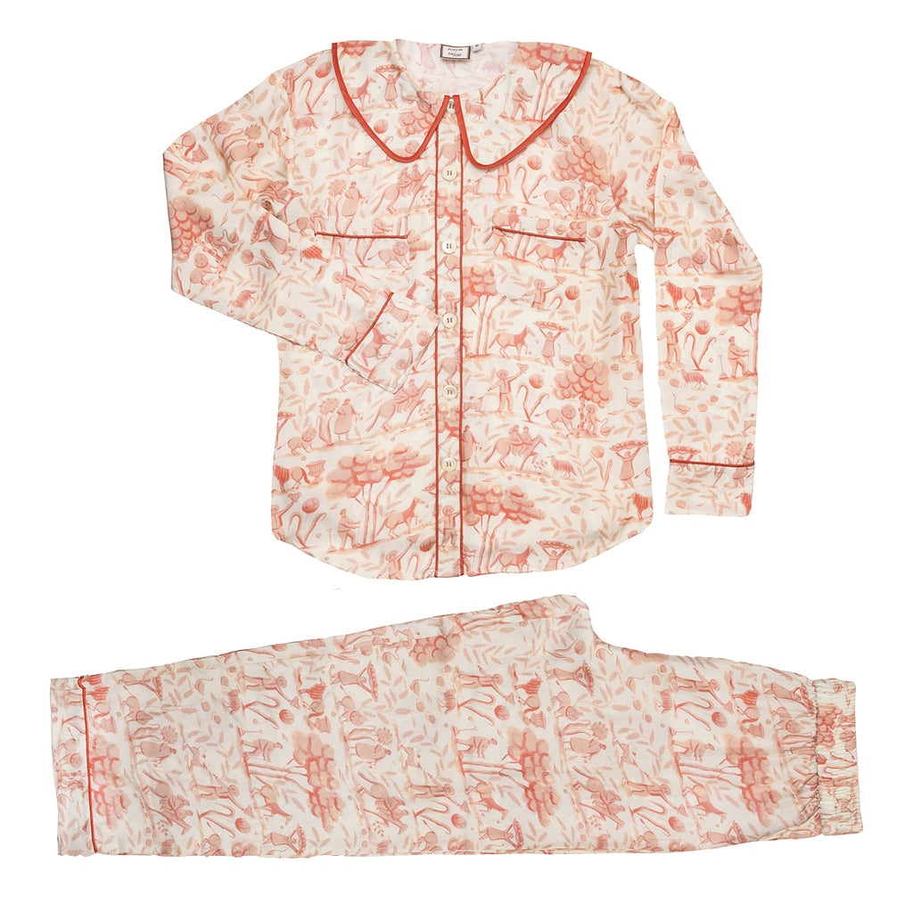 French Pink Toile PJs