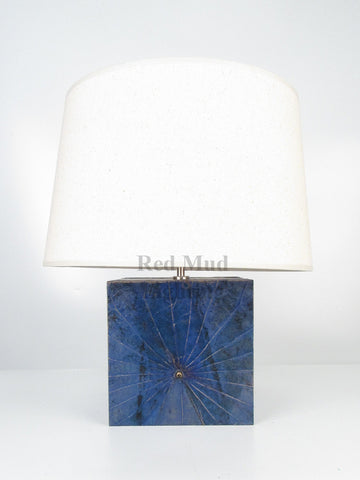 New Lotus Leaf Lamp Small Blue