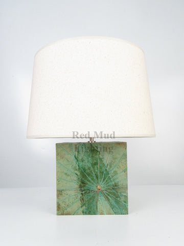 New Lotus Leaf Lamp Large Square Light Green