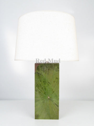 New Lotus Leaf Lamp Medium Emerald Green