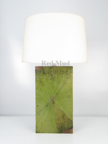 New Lotus Leaf Lamp Large Emerald Green