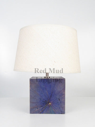 New Lotus Leaf Lamp Large Blue