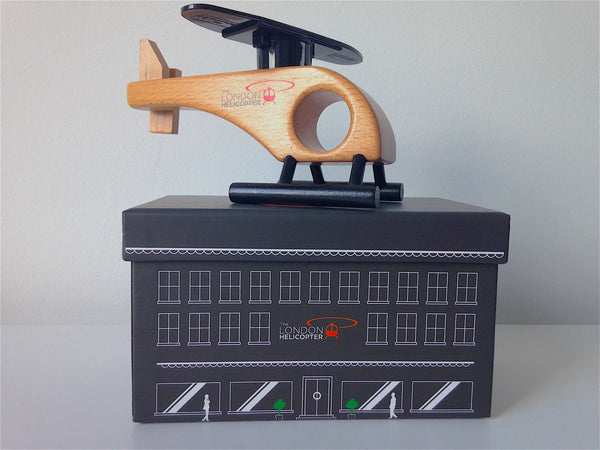 Model Helicopter + Box
