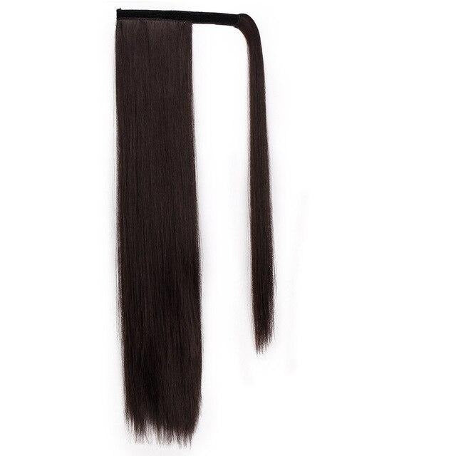 Clip In Straight Ponytail Extensions