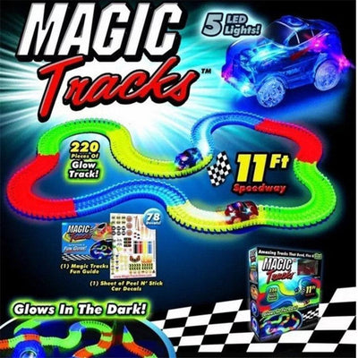 Magic Glow Race Track