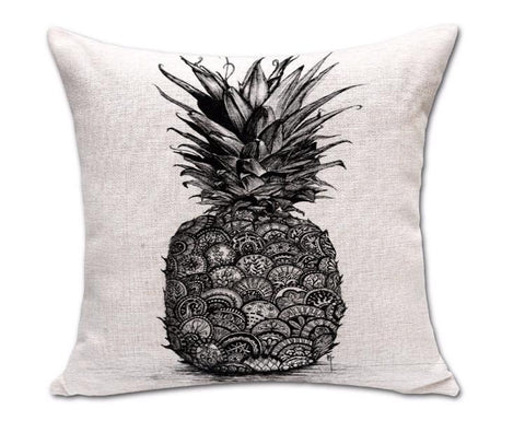 Rustic Pineapple Pillow Case