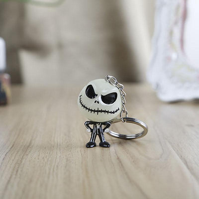 Jack Skellington Glow In The Dark Keyring