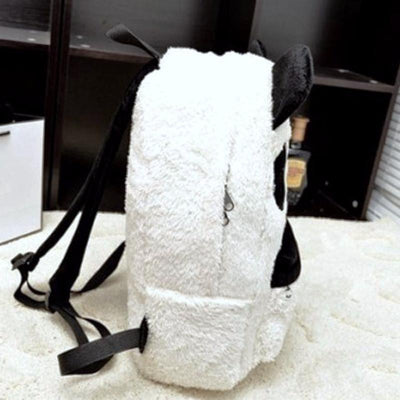 Fluffy Panda Backpack