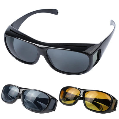 HD Vision Driving Wrap Around Anti Glare Glasses