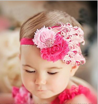 FEATHER BABY HEADBAND GIRLS