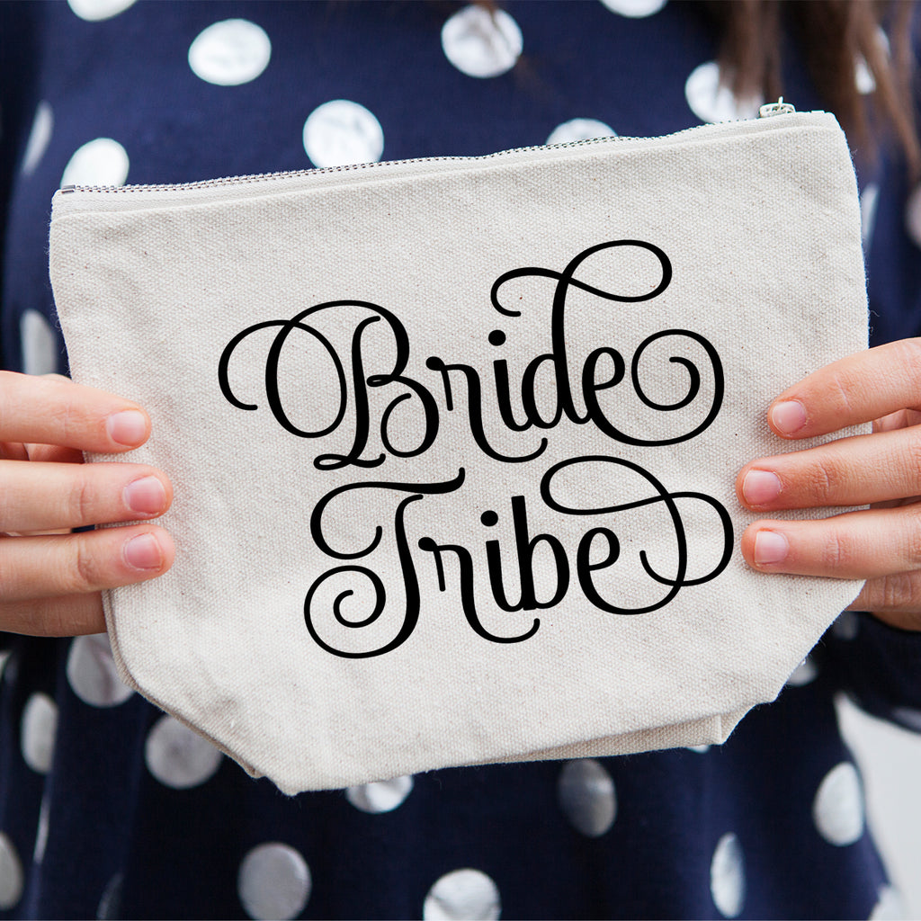 Bride Tribe Cosmetic Bag for Bridesmaid Gifts