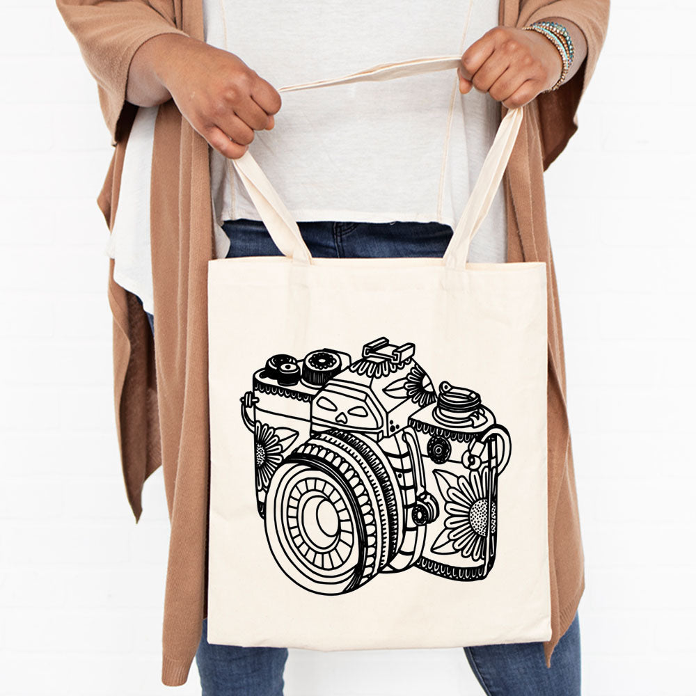 Photographer gift tote bag