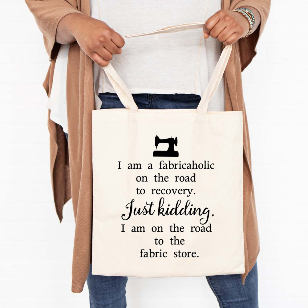 Fabricaholic Tote Bag