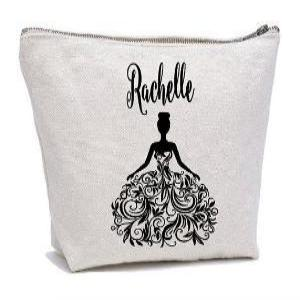 Personalised Flower Girl Cosmetic Bag