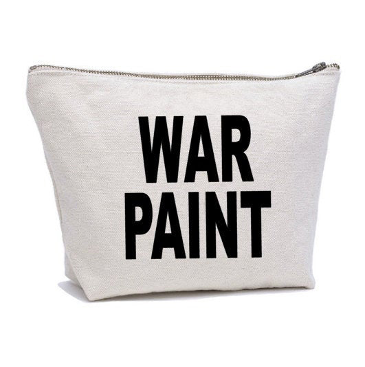 War Paint Makeup Bag