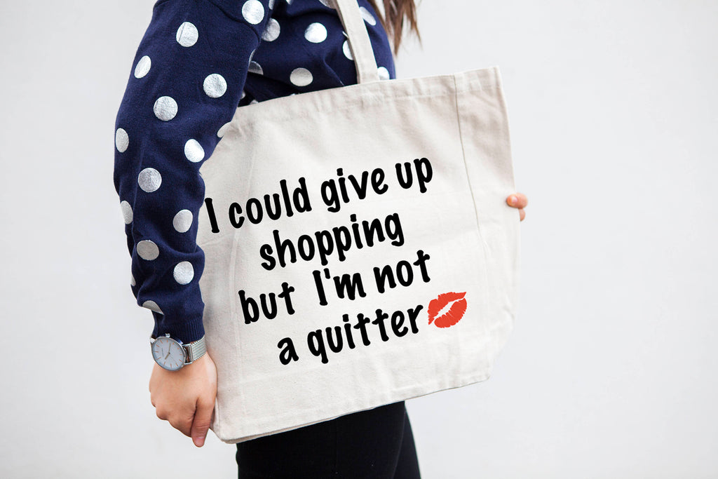 Oversized Shopping Tote Bag