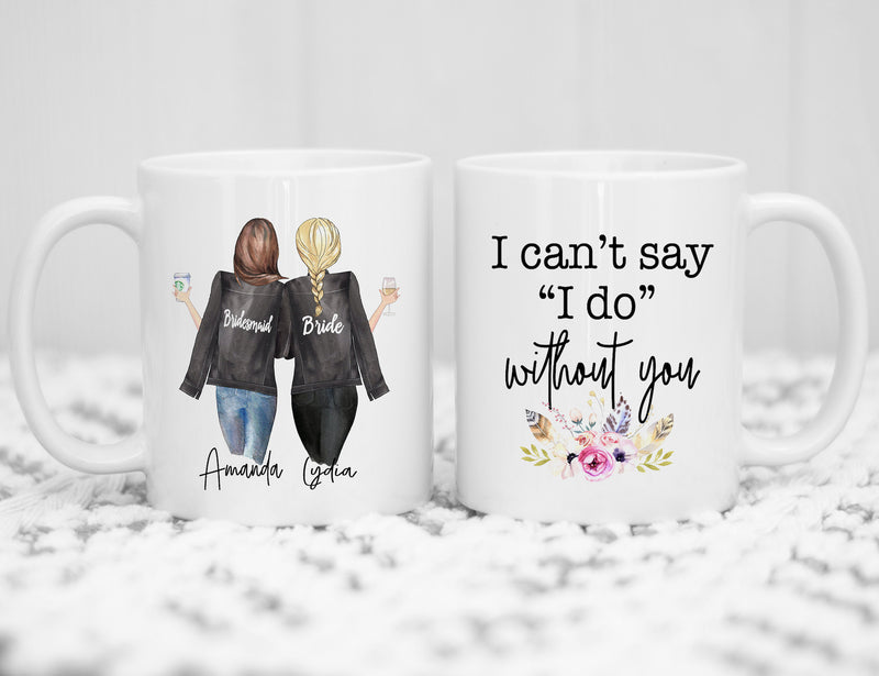 Personalised Bridesmaid Proposal gift