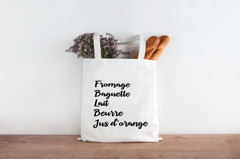 French Grocery Bag