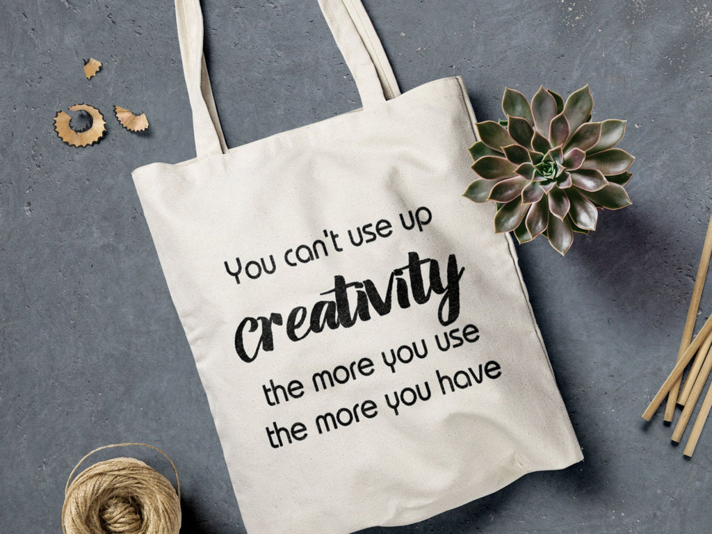 Creativity quote Tote bag