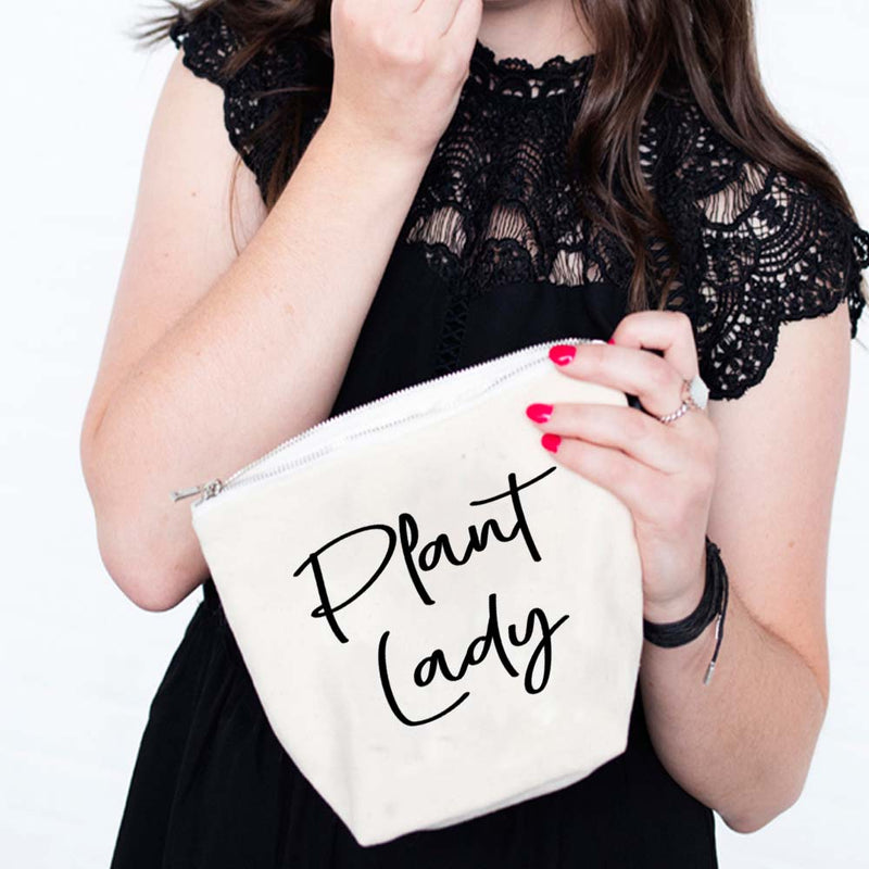 Plant Lady Makeup Bag