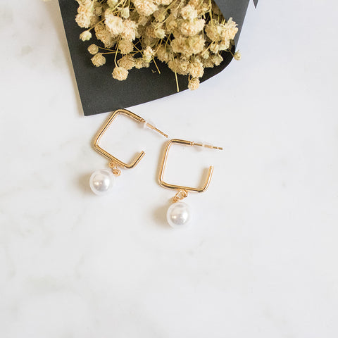 Jeo Pearl Earrings - JW72
