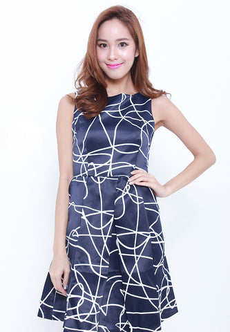 Abstract Missy Dress – ll755
