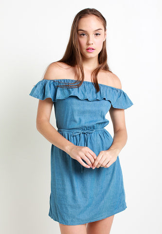Zaris Denim Dress – ll2329