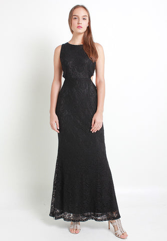 Danlea Lace Dress – ll2321 (Black)