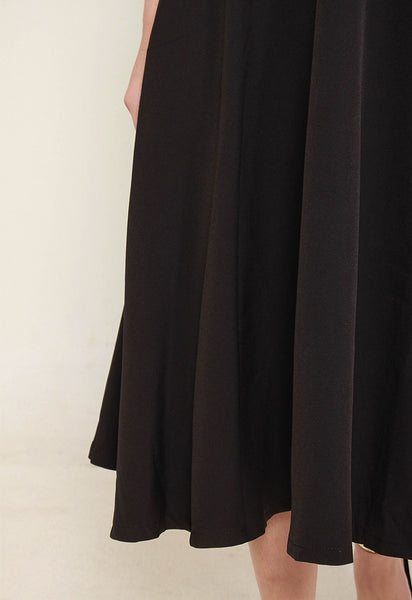 Leylan Midi Dress – ll2899 (Black)