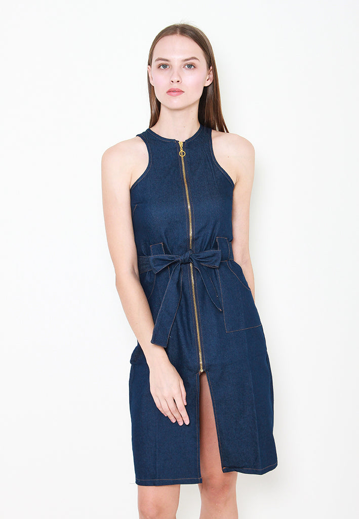 Aaliyah Denim Dress - ll3168