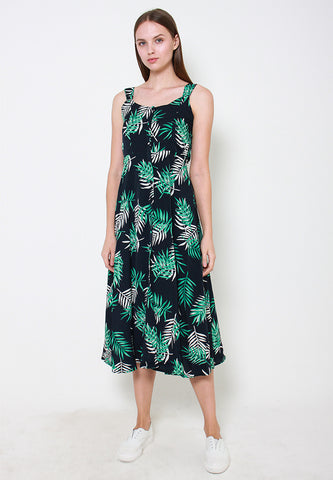 Lucille Prints Maxi Dress - ll3151