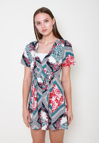 Tessa Print Dress - ll3110